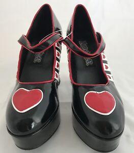 6 Platform chaussures Funtasma Taille 55 Queen WDH2IE9