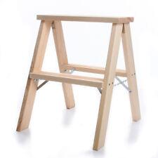 Trittleiter Holzleiter Stufenleiter Tritthocker Doppelstufenleiter 2x2 Stufen