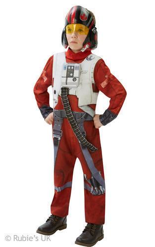 Star Wars The Force Awakens Kids Fancy Dress Boys Girls Disney Childrens Costume