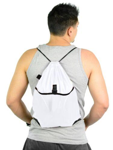 Mato /& Hash Drawstring Cinch Bag Backpack Sack Tote Mesh Pocket NWT