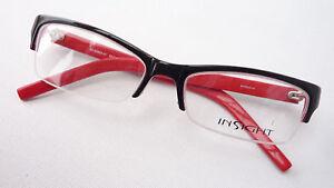 KöStlich Katzenauge Brille Gestell Fassung Nur Oberrand Fetzig Schwarz Rot Damen Size S Warmes Lob Von Kunden Zu Gewinnen Augenoptik