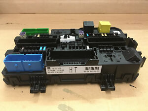 vauxhall astra h 1 4 16v bcm body control module rear fuse box rh ebay co uk