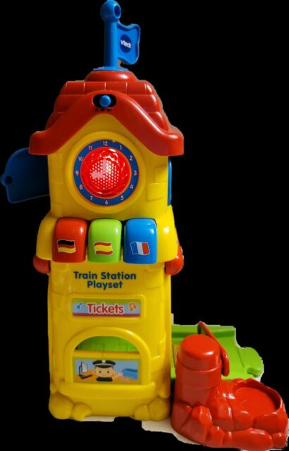 VTech Go! Go! Smart Wheels Train Station Playset Replacement Lights Sound
