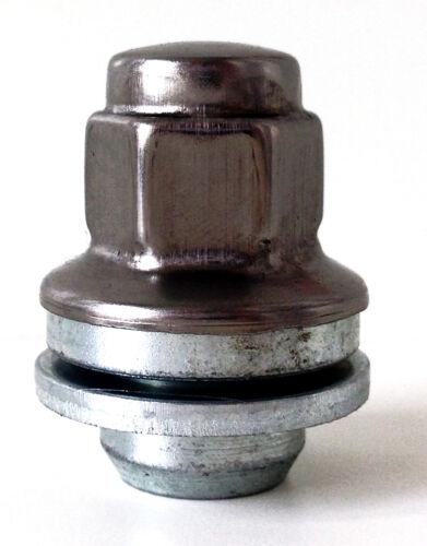 rueda de coche asiento plano O.E estilo tuercas lengüetas 5 X Original Spec M12 X 1.5 19mm Hex