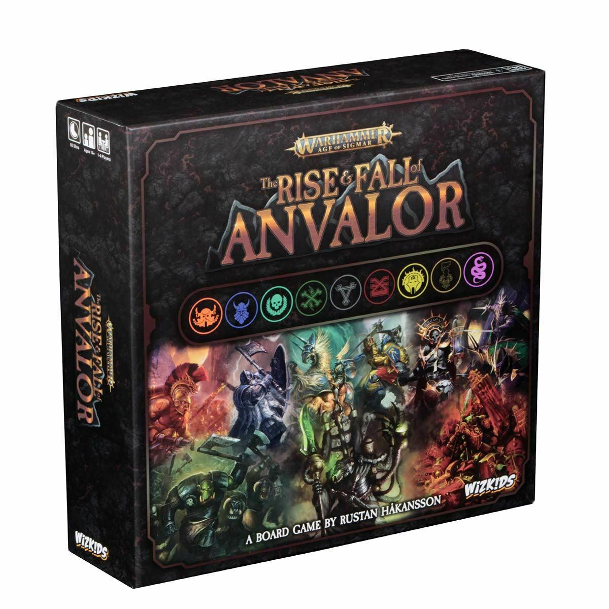 The Rise & Fall of anvalor Board Game