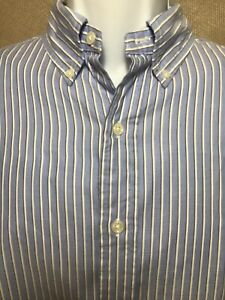 Ralph-Lauren-Classic-Fit-Button-Front-Long-Sleeve-Shirt-Size-Large