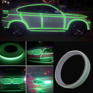Roll bright green reflective sticker motorcycle car luminous image is loading roll bright green reflective sticker motorcycle car luminous aloadofball Choice Image