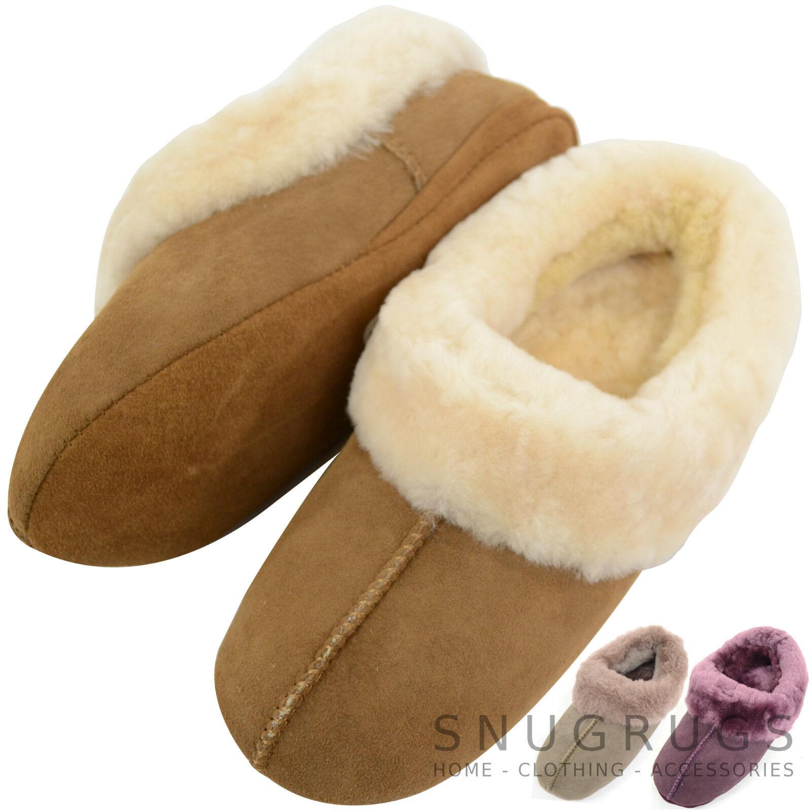 Women genuine 100% lambskin complete with soft sole shoe