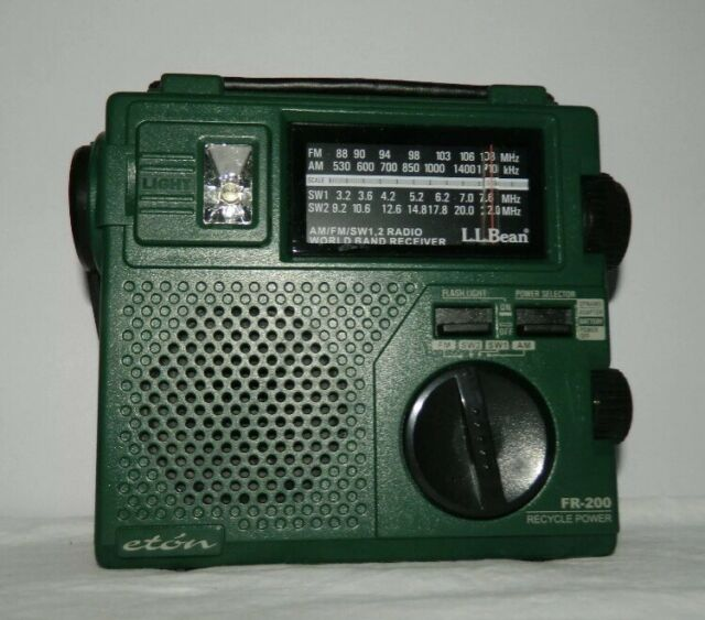 Ll Bean Emergency Radio Eton Fr Manual Guide