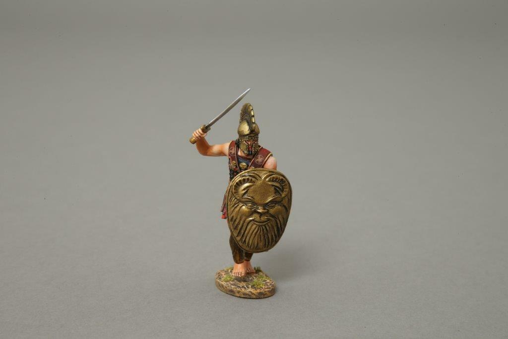 XE005A Cypriot Charging (Bronze) by Thomas Gunn Miniatures
