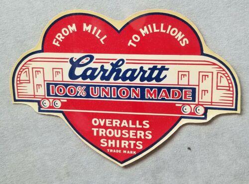 Vintage Original 1930s 1940s Carhartt Overalls Wat