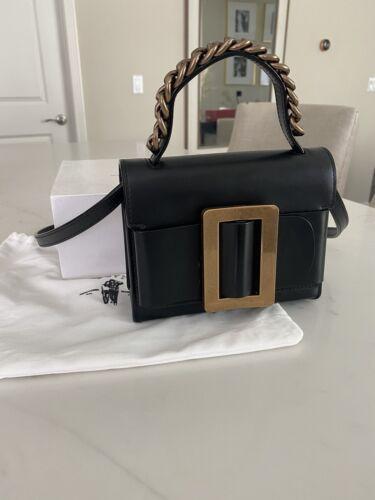 BOYY Black Fred Leather Cross-Body Bag