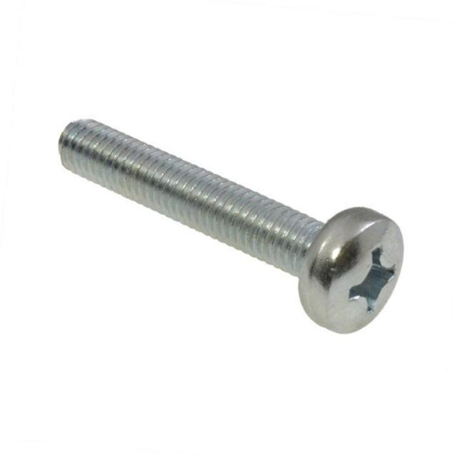 Pan Head Phillips Machine Screw Zinc Plated