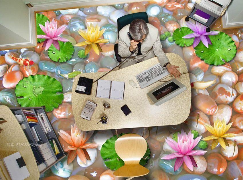 3D Galet 18 Fond d'écran d'écran d'écran étage Peint en Autocollant Murale Plafond Chambre Art | Belle Couleur  1c7d14