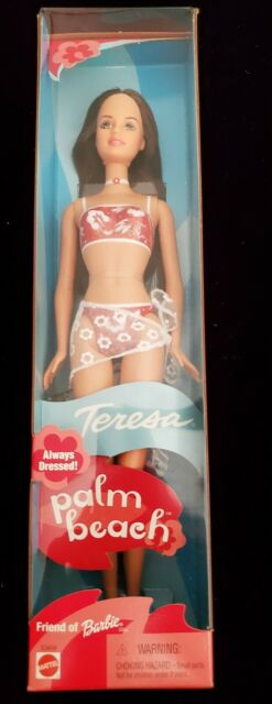 Palm Beach Teresa Always Dressed Doll Friend of Barbie 2001  #53459 ☆NIB☆