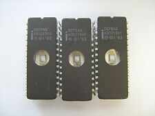 INTEL D2764A 2764 IC 28Pin EPROM Integrated Circuit- Lot of 3 Pcs TESTED ERASED