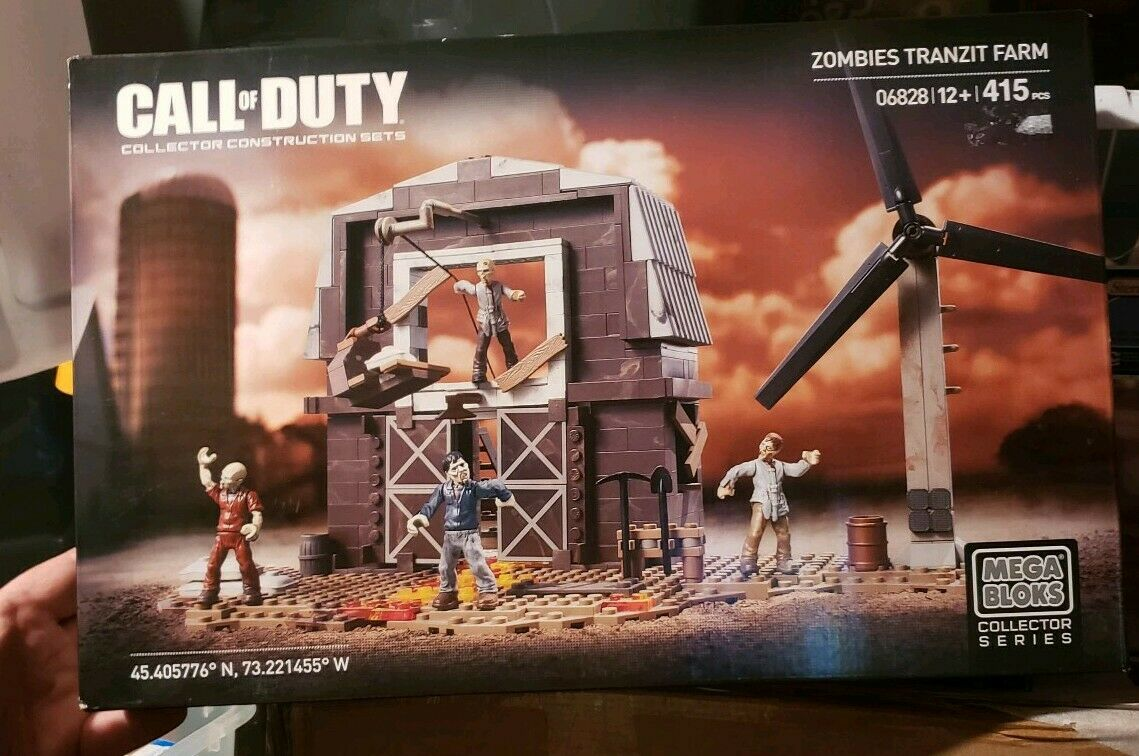 Mega Bloks Call of Duty Zombies TranZit Granja