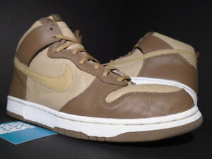 2001 NIKE SB DUNK HI PLUS B STUSSY OSTRICH WHEAT BROWN BRIT KHAKI ... 221cb9a4616f