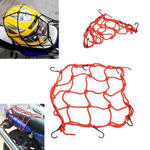 Rete-6-ganci-reggi-porta-casco-bagaglio-moto-motorino-scooter-motocicletta-ROSSO