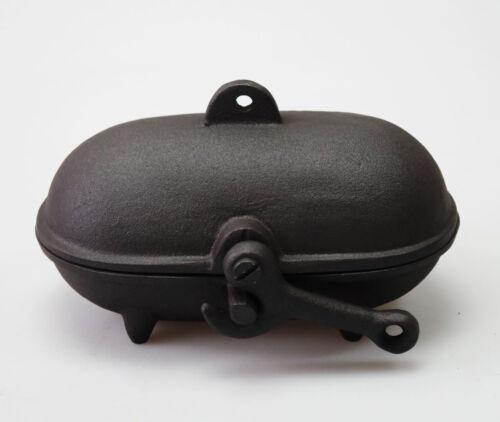 Cast Iron BAKED POTATO COOKER use on Woodburning Multifuel Stoves MINI OVEN SPUD