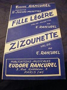 Partition-Fille-Lightweight-Zizounette-E-Rancurel