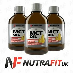 7NUTRITION-MCT-OIL-100-pure-fatty-acids-diet-weight-fat-loss-energy-400ml