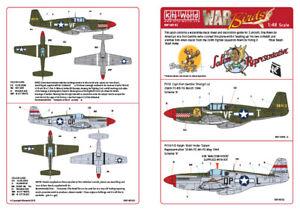 Kits-World Decals 1/48 north-american P-51B MUSTANG #48182