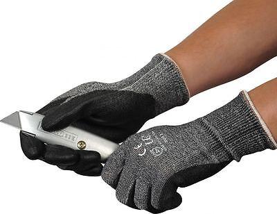 UCI Kutlass PU500 - Grey PU Palm Coated Cut Resistant Gloves