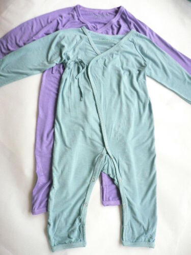 Organic Bamboo Baby Longsleeve Romper jump suit...extra soft...6-9 or 9-12mo