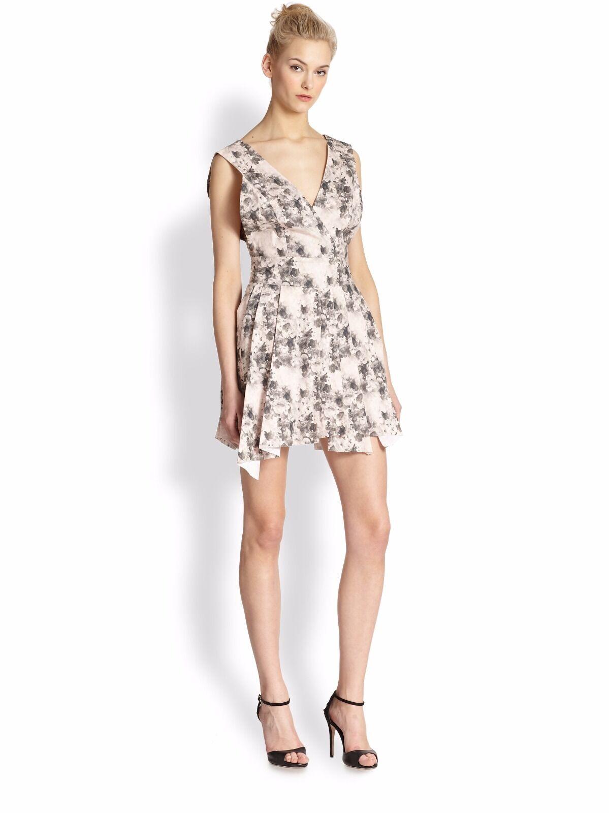 Robert Rodriguez  Bonded Floral-Print Sexy Summer Dress. NWT Sz.4