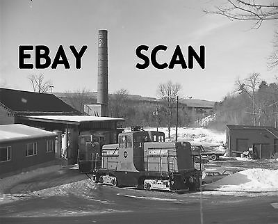 ORIG NEG Claremont & Concord GE 44 ton 18 switching Coy Paper Original 2 ¼ in