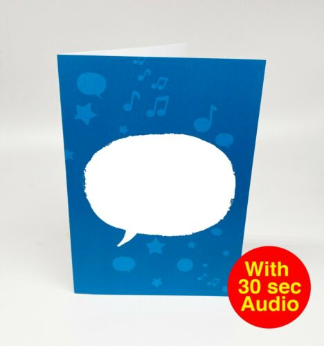 30 segundo audio Hazlo tú mismo grabable voz Talkie Tarjetas