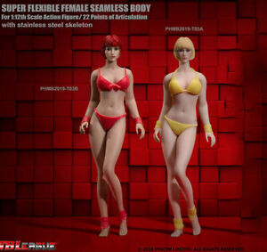 TBLeague-T03-1-12-Phicen-Seamless-Body-Head-Doll-Female-Figure-Model-6-034-Action
