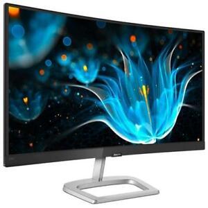 PHILIPS Monitor 23.6 Curvo LCD VA 248E9QHSB / 00 1920 x 1080 Full HD Tempo di Ri