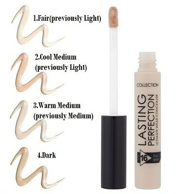 collection 2000 Conceals lasting perfections and blemishes for up to 16 hours