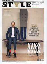 Style Corsera 2016 12#Erwin Wurm,Miljhon Ruperto & Ulrich Heltoft,Xavier Dolan,i