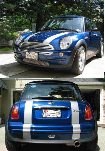 Mini Cooper Standard Bonnet Boot Stripe Stripes Decals Clubman FIT ALL YR MODELS