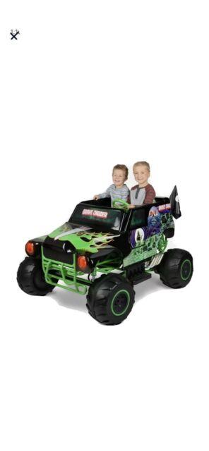 Monster Jam Grave Digger 24 Volt Battery Powered Kids Ride ...