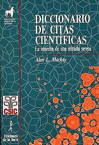 Diccionario De Citas Cientificas. NUEVO. Nacional URGENTE/Internac. económico. P
