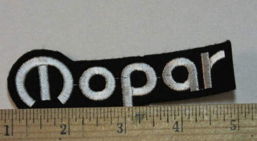 """Mopar  Iron-on Embroidered Patch 4/"""""""