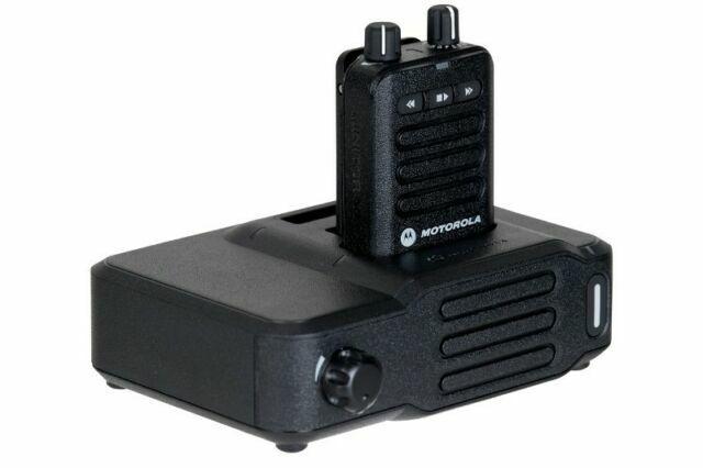 MOTOROLA MINITOR II AMPLIFIED CHARGER  W//VHF ANT.