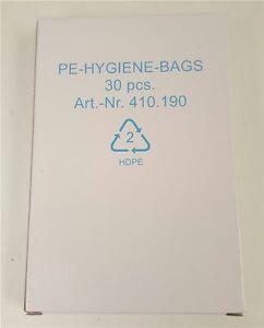 Medi Inn Disposable Hygiene Sanitary Bags For Use In