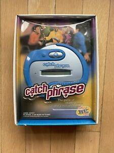 Details about  /CATCH PHRASE Original 1st Edition Electronic Handheld Game 2000 Hasbro