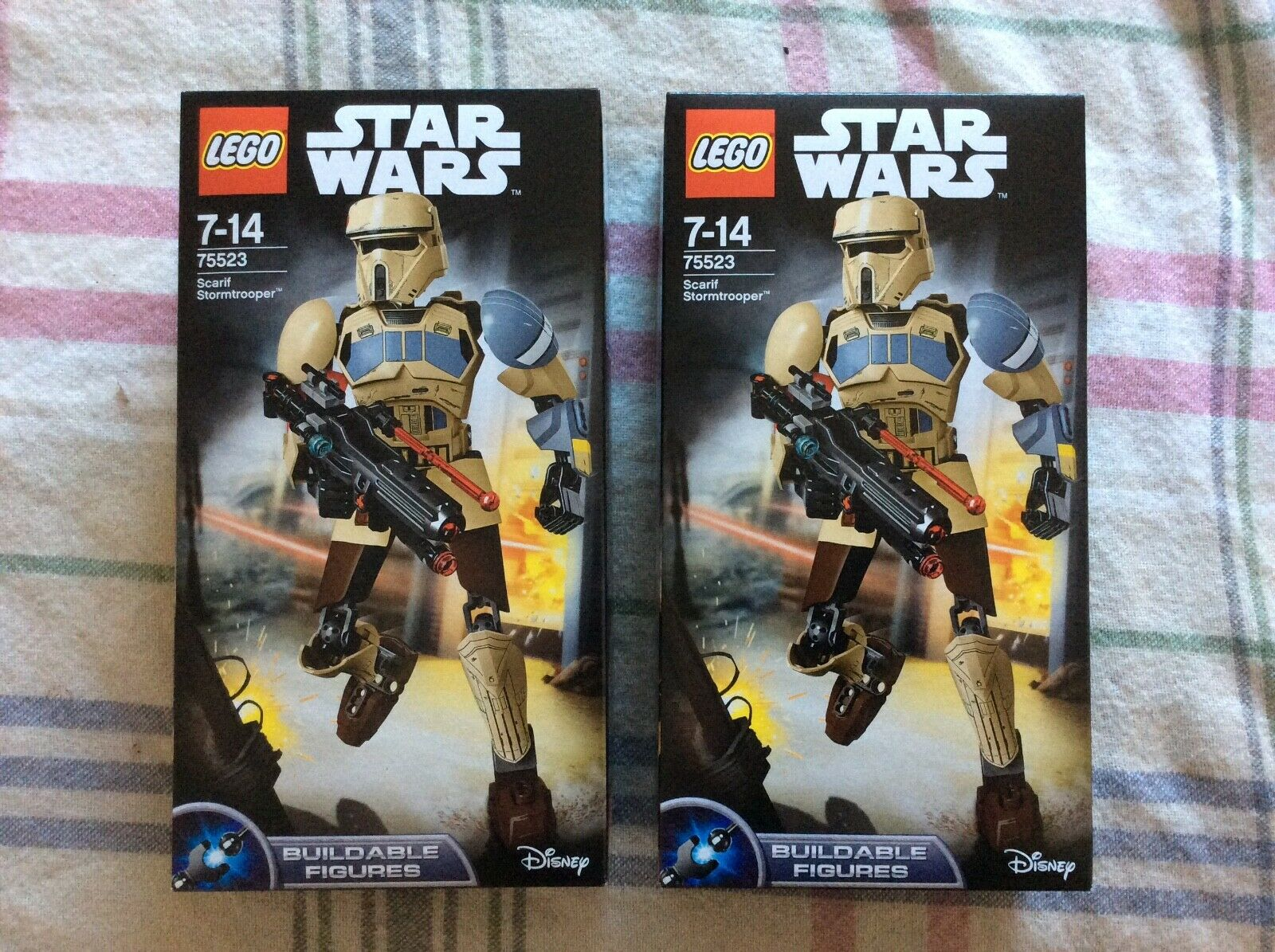 LEGO STAR WARS BUILDABLE FIGURE - 75523 - SCARIF STORMTROOPER - BNIB x 2