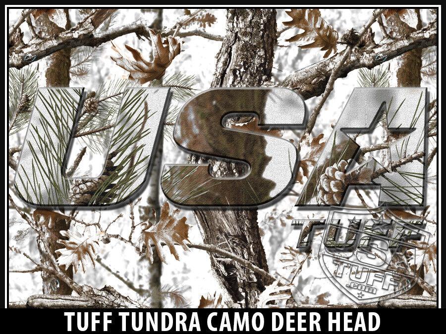 USATuff Custom Cooler Wrap 'Fits Mold' New Mold' 'Fits RTIC 20QT FULL Tndra Snow DeerHead a1cb66