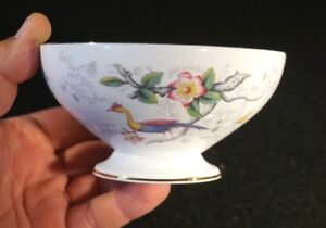 Beautiful-Coalport-Cairo-Peacock-Multi-Colour-Large-Sugar-Bowl