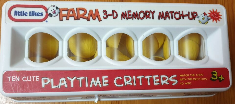 Memory Farm 3D, Børnespil, huskespil
