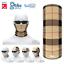 Cream Check Plaid Tartan  Multifunctional Headwear Neckwarmer Bandana