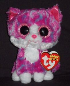 5381ff9ea7c TY BEANIE BOOS - CHARLOTTE the CAT (CLAIRE S EXCLUSIVE) -MINT with ...