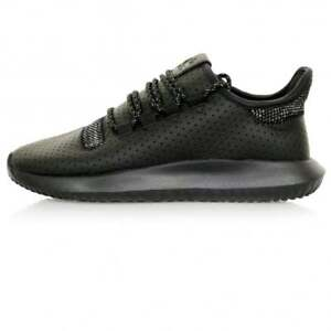 adidas-Originals-Men-039-s-Tubular-Shadow-Trainers-Leather-Knit-Upper-Core-Black